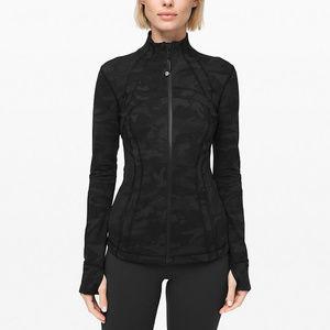 Lululemon Define Jacket, Sz 6, Incognito Grey Camo